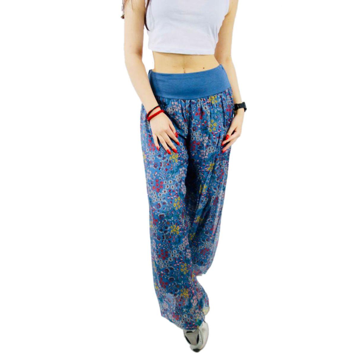 Pantaloni Floricele Dama Engros