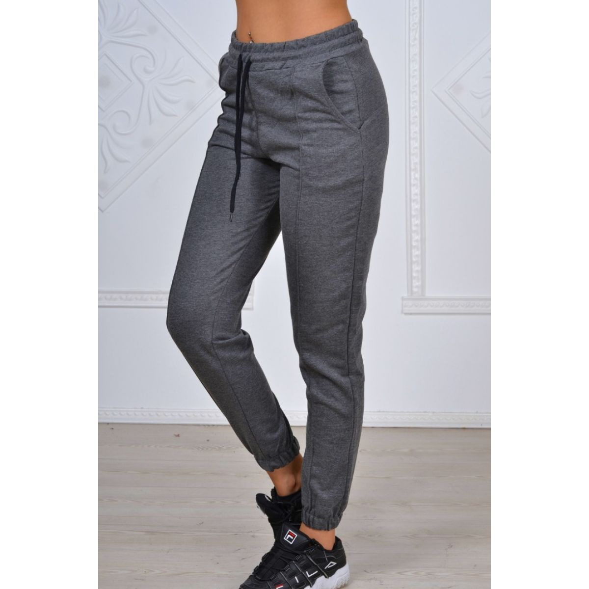 Pantaloni casual dama engros